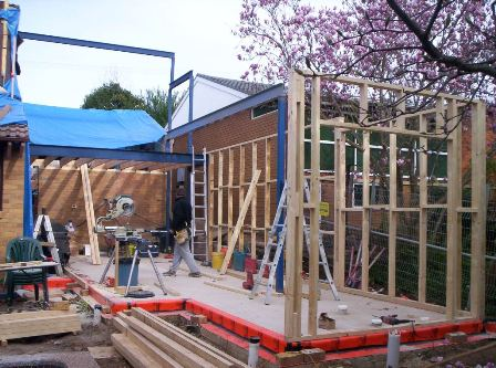 Timber Frames And Trusses Fabricated On Site
