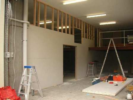 Wall Partitioning Stud And Track Timber Wall Framing